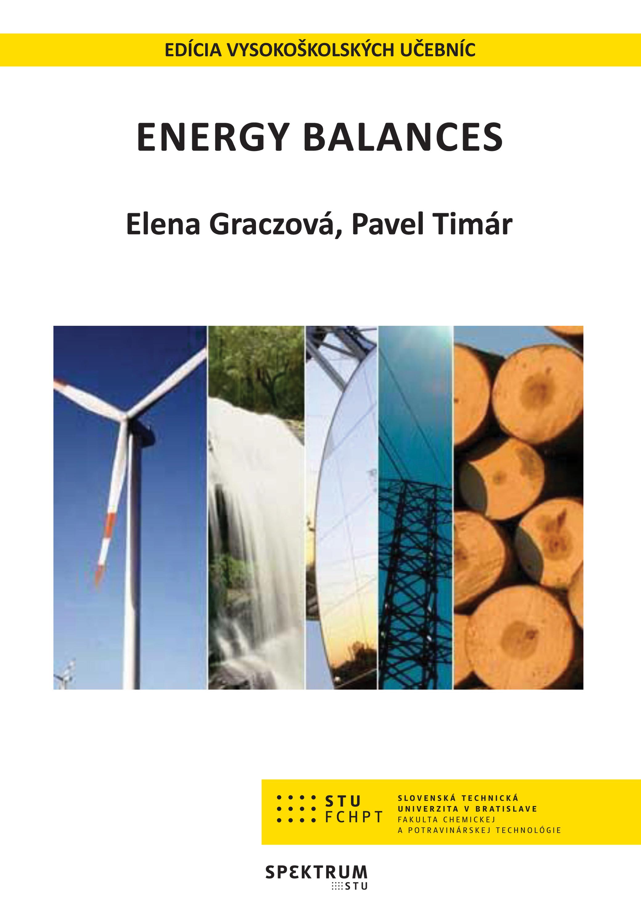 ENERGY BALANCES 1