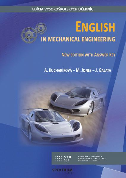 English in mechanical engineering, new edition with answer key
